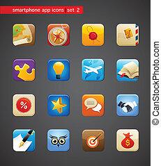 Colección de iconos de electrodomésticos