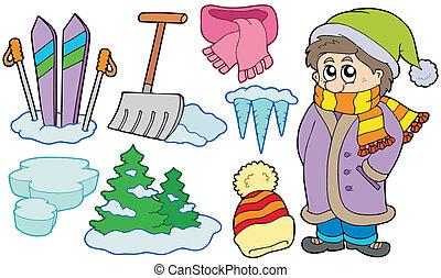 Colección de imágenes invernales