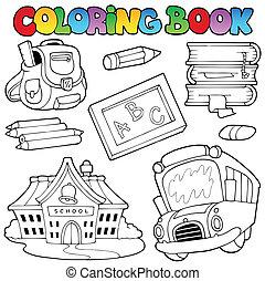 Colección de libros de color 1
