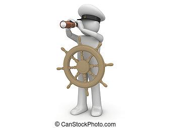 Colección de obreros, Capitán