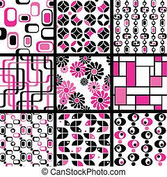 Colección de patrones sin marcas
