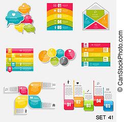 Colección de plantillas fotográficas para ilustraciones de vectores de negocios.