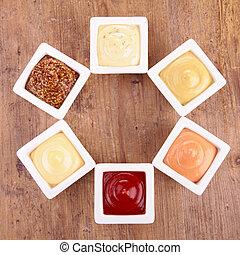 Colección de salsas