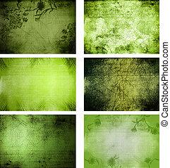 Colección de texturas de fondo grunge