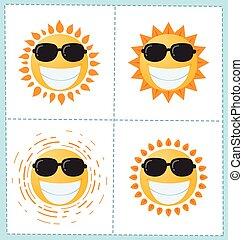 Coleccion de iconos solares