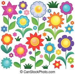 Coleccion de temas de flores 1