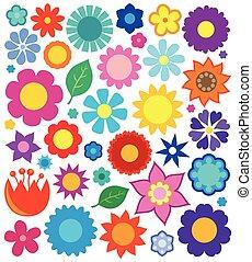 Coleccion de temas de flores 4
