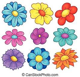 Coleccion de temas de flores 6