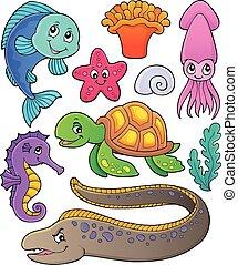 Coleccion de temas de vida marina 1