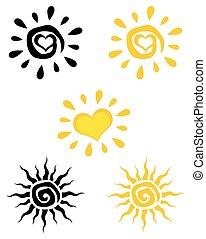Coleccion solar abstracta