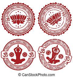 Colecciona sellos de yoga