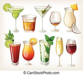 Colecciones de alcohol