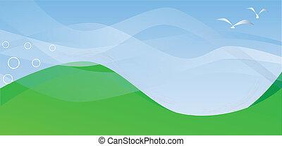 colinas rodantes