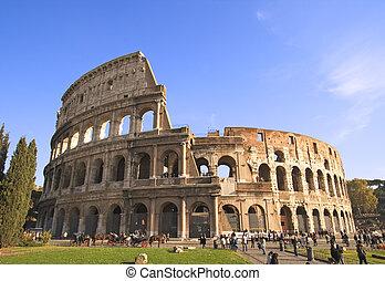 Coliseo ángulo ancha