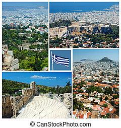 Collage de atenes marca, Grecia