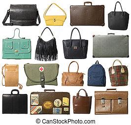 Collage de bolsas