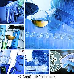 Collage de laboratorio