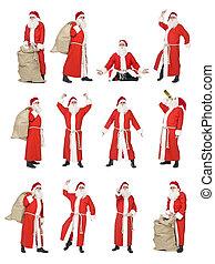 Collage de Santa