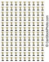Collage de trofeos