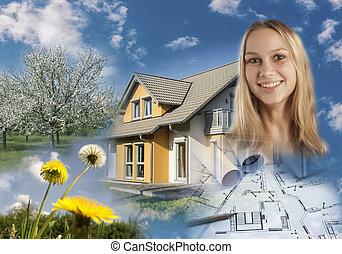 Collage inmobiliario