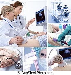 Collage médico