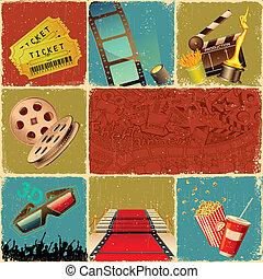 collage, película