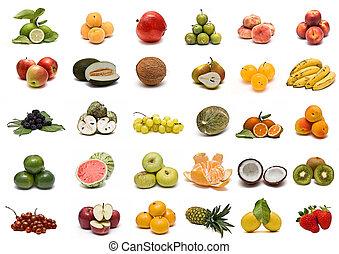 collection., fruta