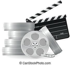 Coloca iconos en el cine