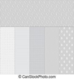 Colocar los antecedentes de papel blanco