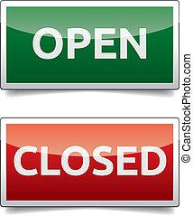 color, abierto, -, tabla, cerrado