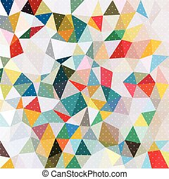 Color brillante fondo con patrón de puntos