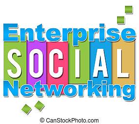 Color de redes sociales Enterprise
