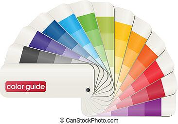 color, guía
