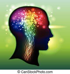 Color humano de neuronas