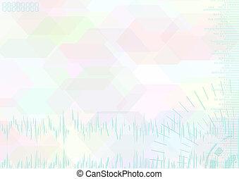 Color luz de fondo abstracto