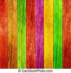color, madera, plano de fondo