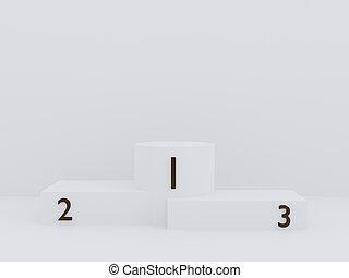 color, podio, espacio, blanco, presentación, render, minimalism, resumen, copia, simulado, arriba, plano de fondo, escena, 3d, estilo