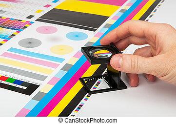 color, prepress, dirección, impresión, producción