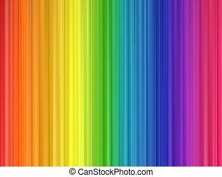 colores del arco iris