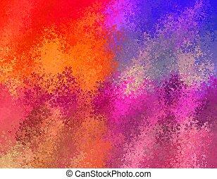 Colorida flor fondo