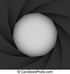 colorido, cámara, ilustración, eps10, obturador, plano de fondo