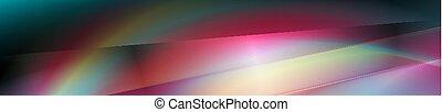 colorido, gradiente, oscuridad, resumen, bandera, liso