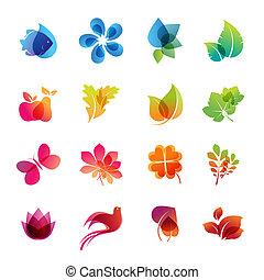 Colorido icono de la naturaleza