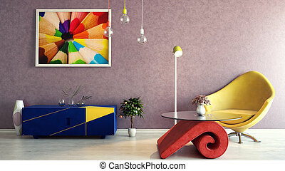 Colorido interior
