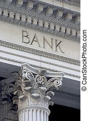columna, banco