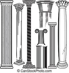 columna, colección