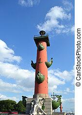 columna, rostral, st.petersburg.