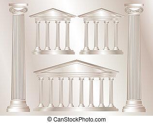 columnas griegas