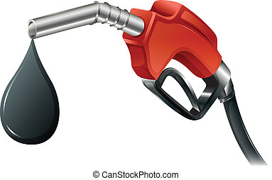 combustible, gris, bomba, coloreado, rojo