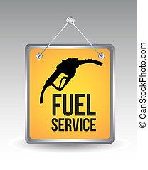 combustible, icono